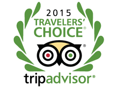 TripAdvisor Travelers' choice 2015