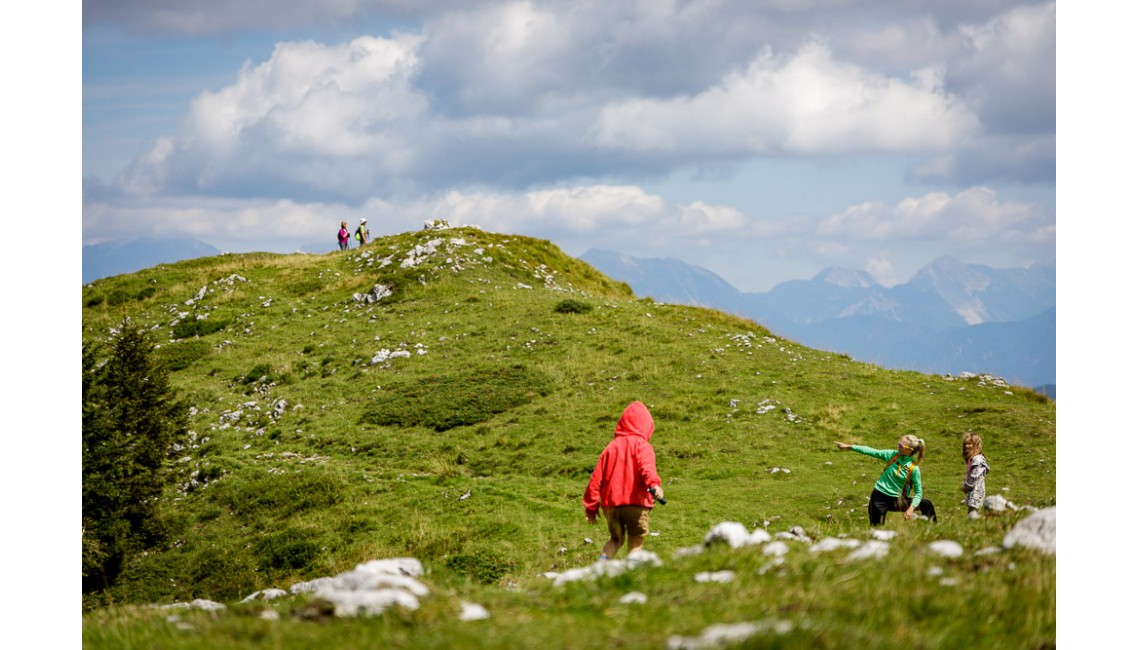 Raziskovanje gora nad Sorico